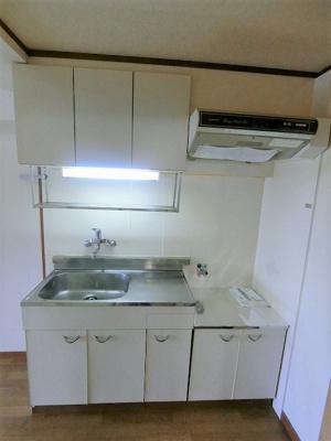 【キッチン】パピヨン渓北
