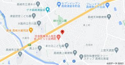 【地図】ハイアーグラウンドA棟 (株)Roots