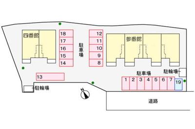 【区画図】アヴェニール四番館
