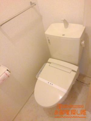 【トイレ】カーサアラモーダ