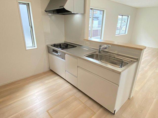 【キッチン】新築一戸建て「小田原市久野第36」全2棟/残2棟