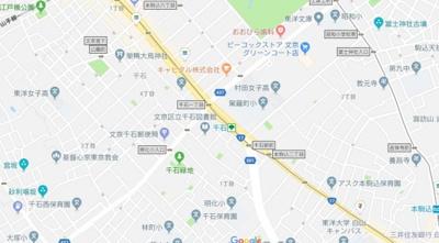 【地図】パーシモン千石