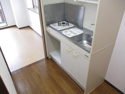 【キッチン】ゴールドキャッスルⅡ