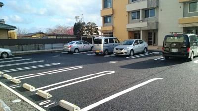 【駐車場】シャルム メゾンA