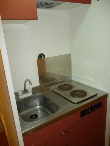【キッチン】レオパレス上水