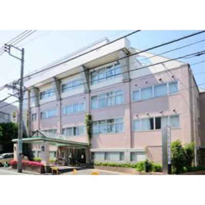病院「医療法人社団三成会河北前田病院まで1077m」