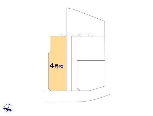 【区画図】堀町新築戸建 第10 4号棟