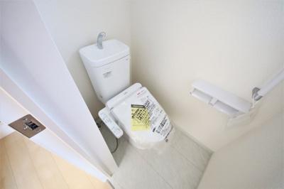 2号棟 ゆったりとした空間のトイレです