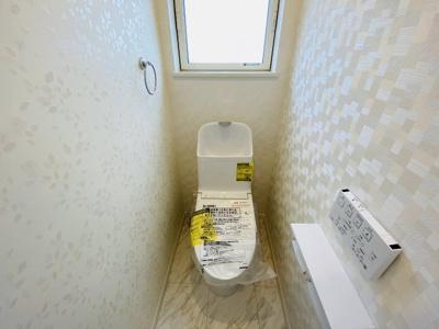 【施工例】◇TOTOの「しっかり節水機能」「充実した節電機能」がついているトイレ