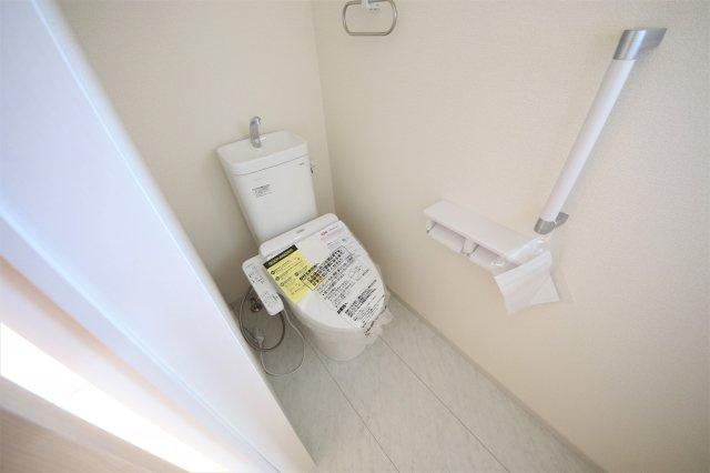 2号棟 トイレもきれいです