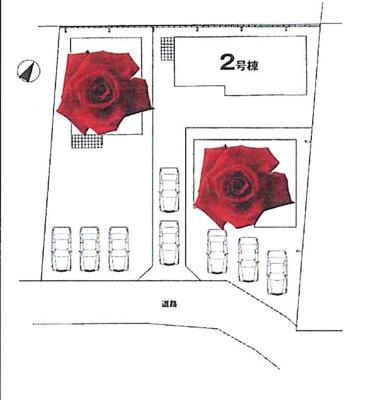 【区画図】牛久市柏田町1期 新築戸建 全3棟