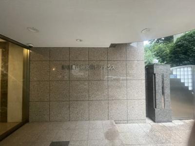 【エントランス】秀和青山神宮前レジデンス
