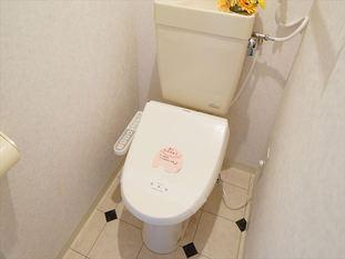 【トイレ】トウリョウ南5条ビル