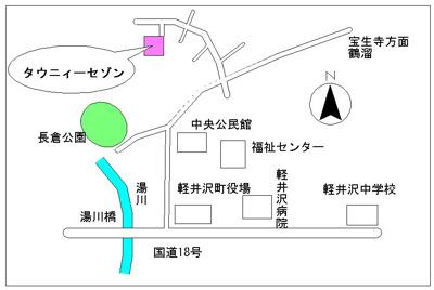 【地図】男前 Like NY