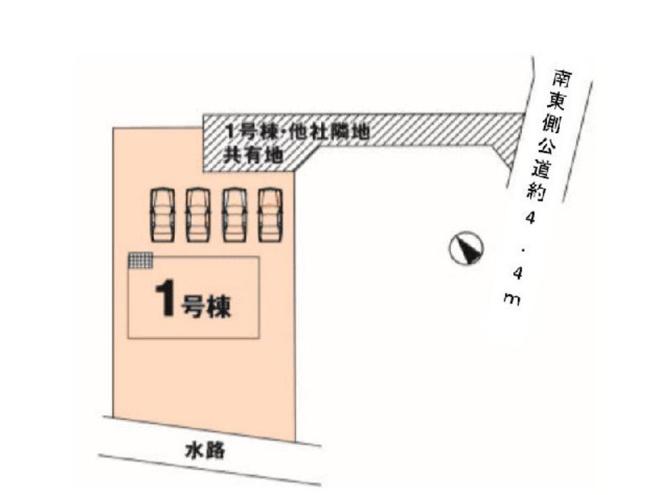 【その他】石岡市鹿の子1期 新築戸建