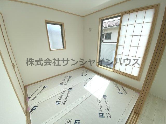 和室4.5帖は、2Fにある為日当たりが良いのでお昼寝しても気持ちよさそうです。