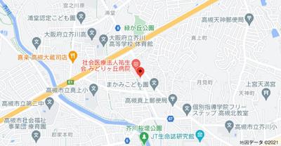 【地図】エステートピアみどりヶ丘 (株)Roots