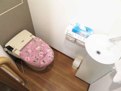 【トイレ】梅小路スカイハイツA南棟