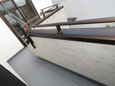 【バルコニー】川越市上野田町 3LDK+ロフト+カースペース2台 新築戸建
