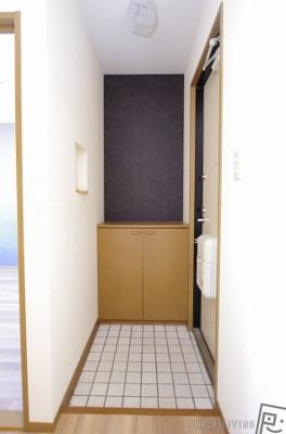 【玄関】メゾネットクレールB