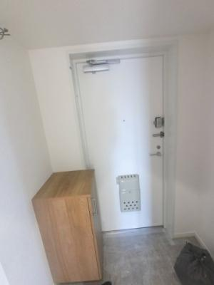 玄関部分です。シューズボックス付♪