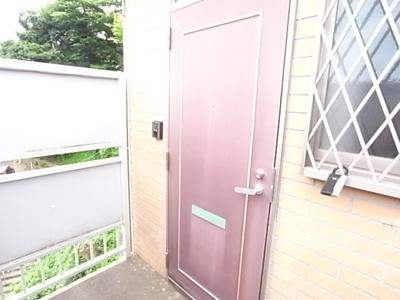 【エントランス】屋敷グリーンハイツC棟