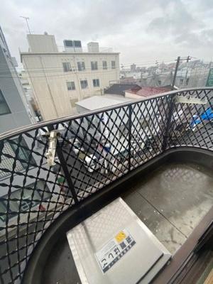 【バルコニー】サンポートハイム舎利寺 仲介手数料無料
