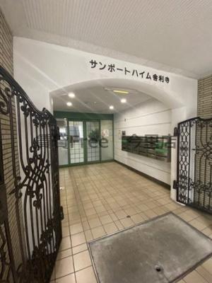 【エントランス】サンポートハイム舎利寺 仲介手数料無料