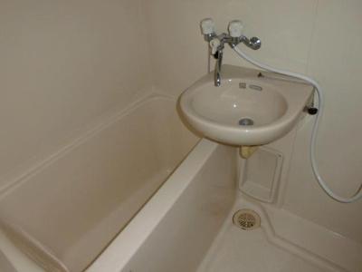 【浴室】カルチェコート鴨池
