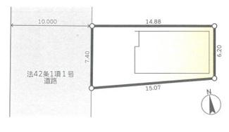【区画図】平塚市横内 新築戸建