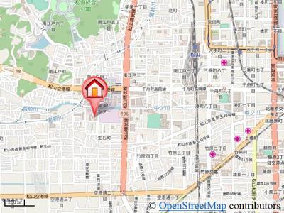 【地図】フォブールオークA・B