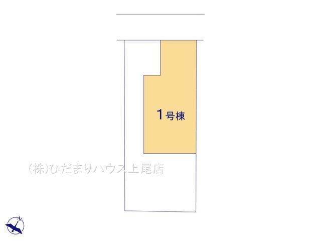 【区画図】上尾市上 21-1期 新築一戸建て リナージュ 01