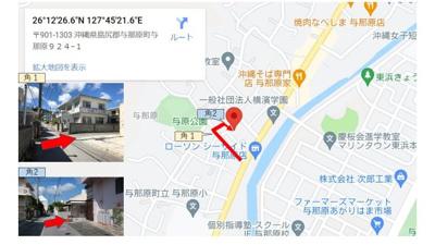 【地図】トーマス与那原2