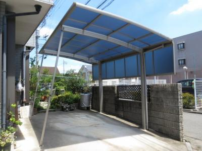 【駐車場】川越市的場中古戸建 5LDK+2S