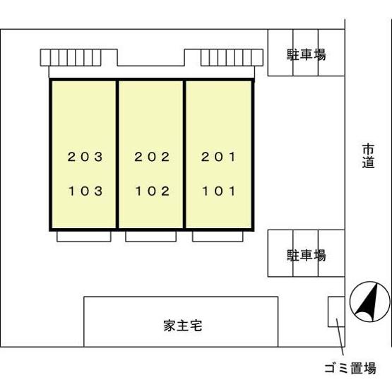 【区画図】クレストコート武蔵野
