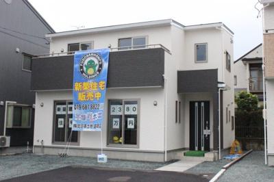 【外観】新築建売 「グラファーレ滝沢市巣子3期」2号棟