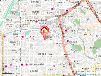 【地図】ウェスティ一色A.B.C・