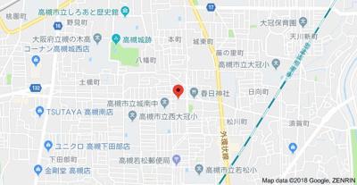 【地図】明輝春日マンション