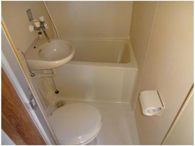 【浴室】明輝春日マンション