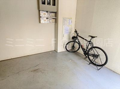 入居者専用駐輪スペース