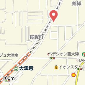 【地図】メゾン琵琶