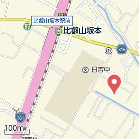 【地図】メゾン・グランデ下阪本
