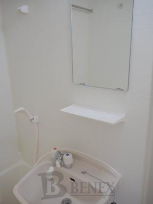 レキシントン・スクエア曙橋の洗面所です