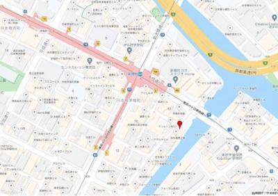 【地図】第2井上ビル