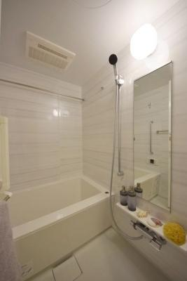 【浴室】ザ・パークハビオ上野御徒町