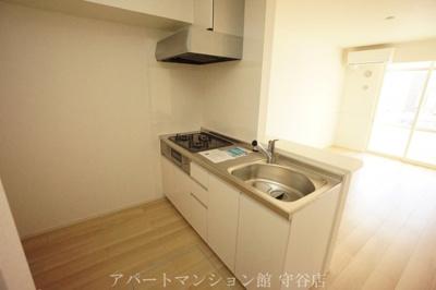 【キッチン】ビレッジヒルⅩⅣ