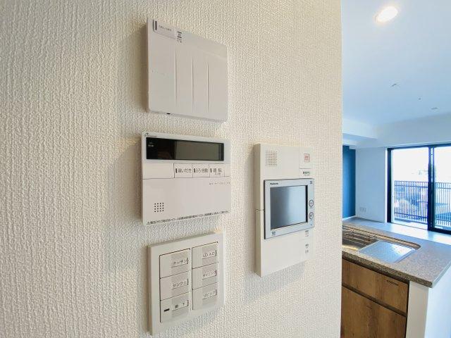 リビングには床暖房が標準装備されてます