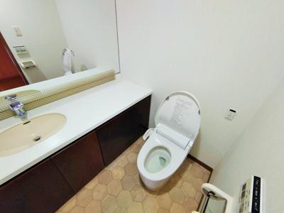 【トイレ】グランフォルム浦和岸町