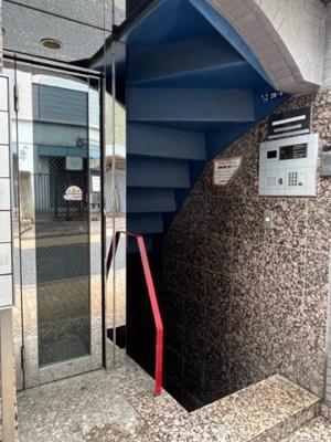 【エントランス】富士見ハウス御苑ビル