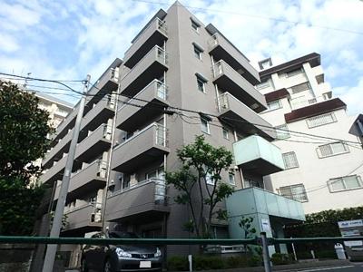東急池上線「長原」駅より徒歩7分のマンションです